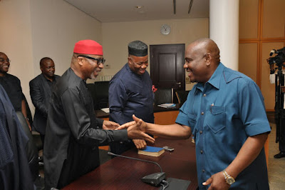 Governor Wike promise that APC cannot win any election in Rivers State