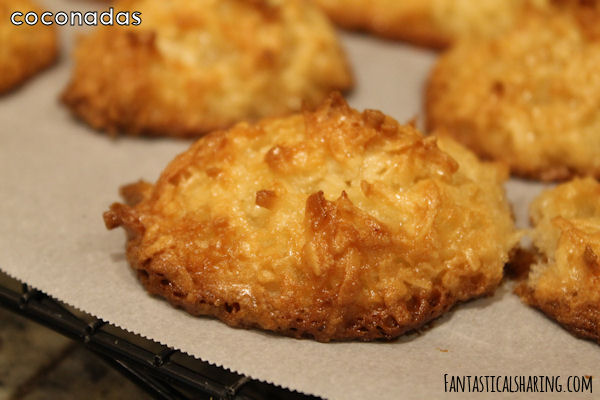 Cocadas #latinamerica #chile #coconut #cookies #dessert #recipe
