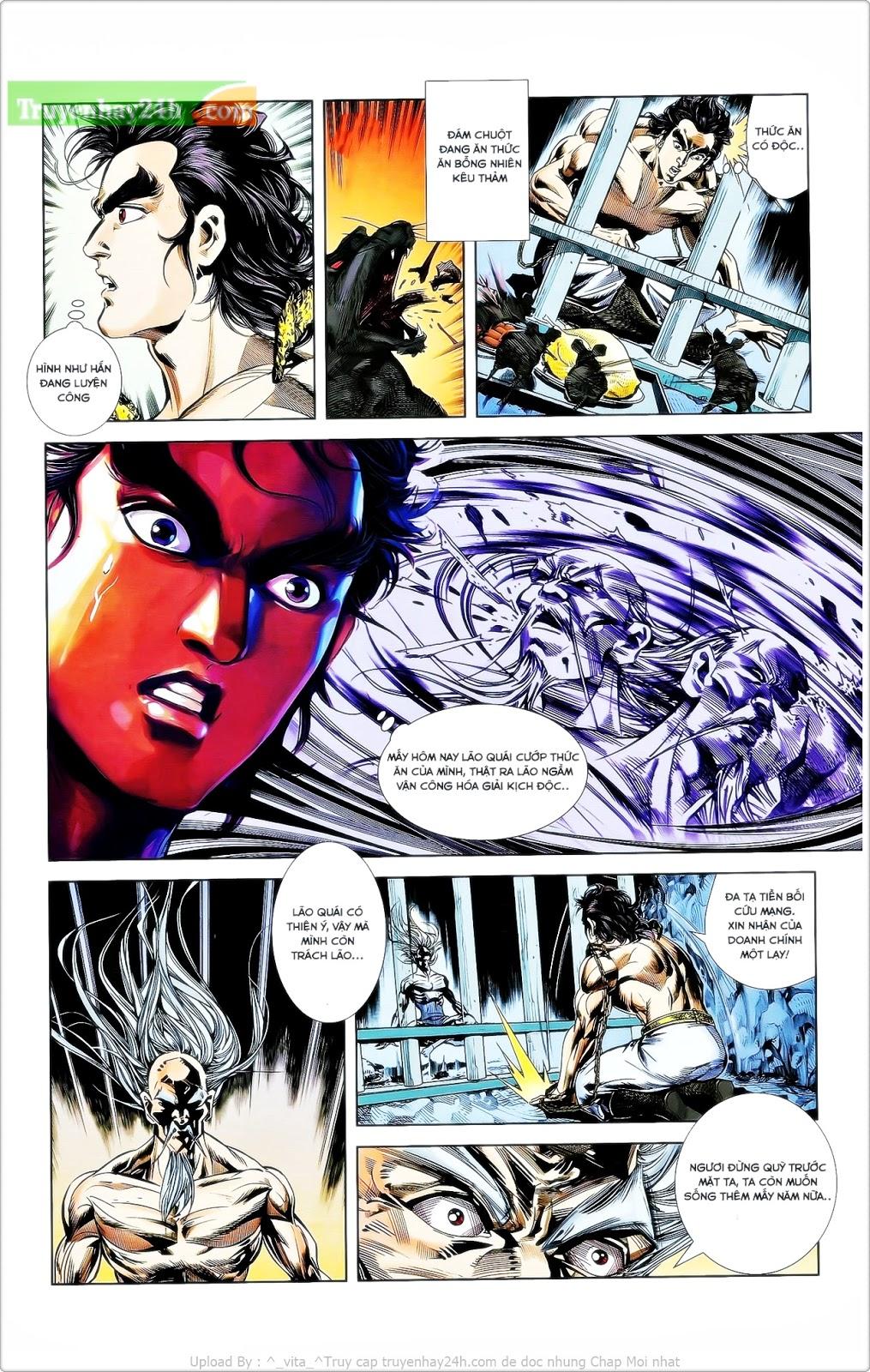 Tần Vương Doanh Chính chapter 24 trang 28
