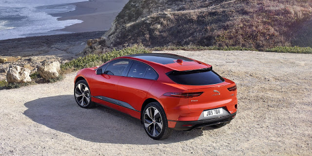 Jaguar I-Pace Electric SUV Unveils and Announces Pricing