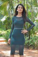 Simran Choudhary Cute beauty with dimples in transparent Green Tight Short Dress ~  Exclusive 009.jpg