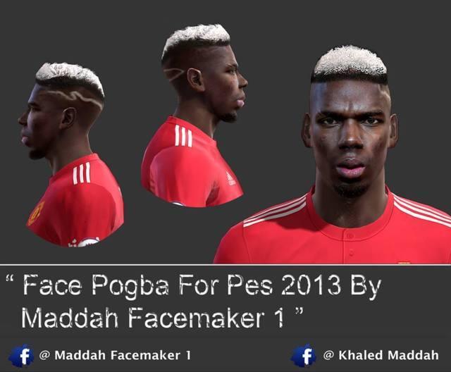 Face Paul Pogba PES 2013