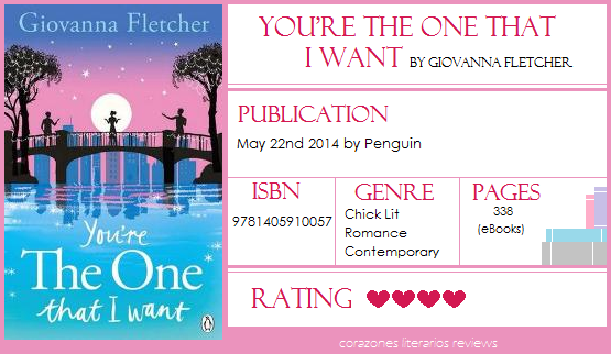 #BookReview: You're The One That I Want by Giovanna Fletcher (@mrsgifletcher)