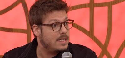Fábio Porchat no Encontro desta quarta (21); humorista defendeu a família do sequestrador