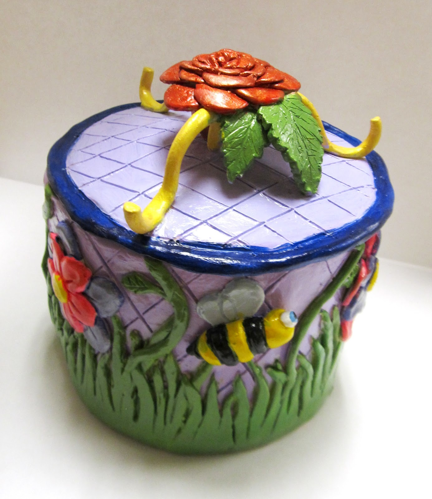 Art Teacher Creature Clay Boxes