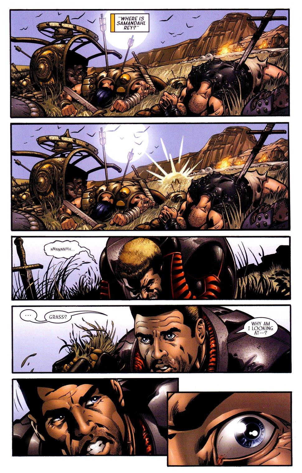 Read online Sigil (2000) comic -  Issue #16 - 20