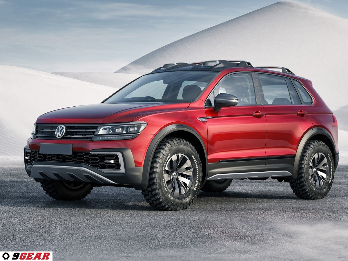 sporty off road hybrid volkswagen tiguan gte active concept car reviews new car pictures. Black Bedroom Furniture Sets. Home Design Ideas