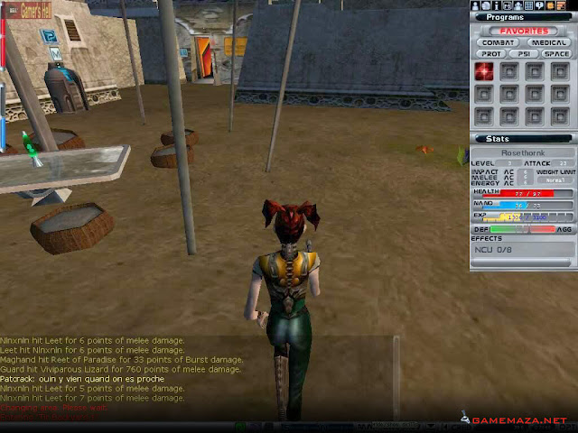 Anarchy Online Gameplay Screenshot 3