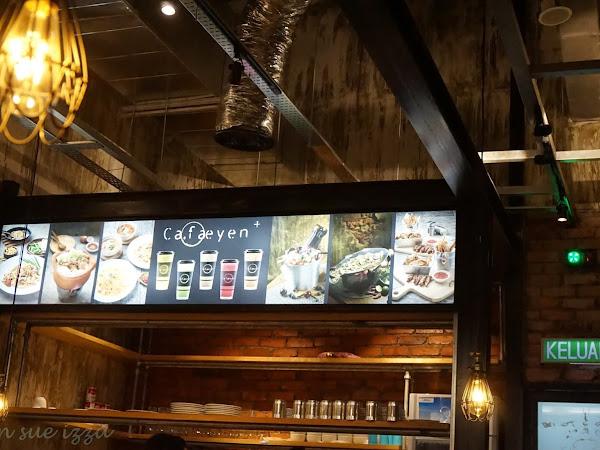 Menjamu Selera Ala Thai di  Cafaeyen Cafe,IOI City Mall,Putrajaya bersama Aeril Zafril.