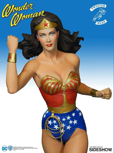 osw.zone Wonder Woman, known from the seasons 2-3 as the new adventures of Wonder.  Check out this 13.5 inch Lynda Carter Wonder Woman Maquette by Tweeterhead