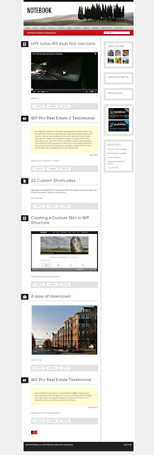 Notes-wordpress tumblr blog theme