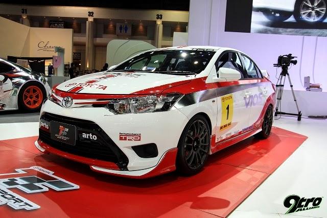 Modifikasi Toyota Vios TRD 2013-2014