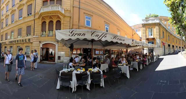 O que fazer na Via Veneto em Roma