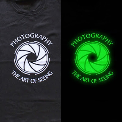 Harga Sablon Kaos Glow In The Dark