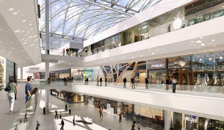 Pôle de loisirs et de commerce de Lyon Confluence
