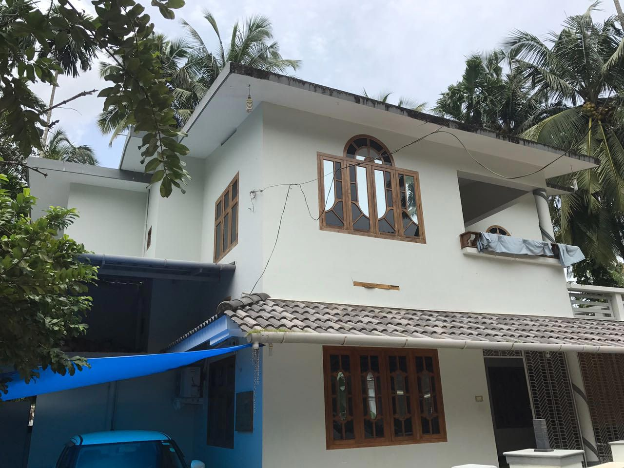 Old house to contemporary new style renovation kerala Old home renovation in kerala