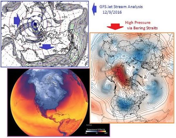 El cambio climático  esta acelerando el 'bamboleo' de la Tierra.