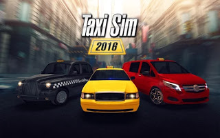 لعبة Taxi Sim 2016 v1.3.0 Mod.apk مهكرة