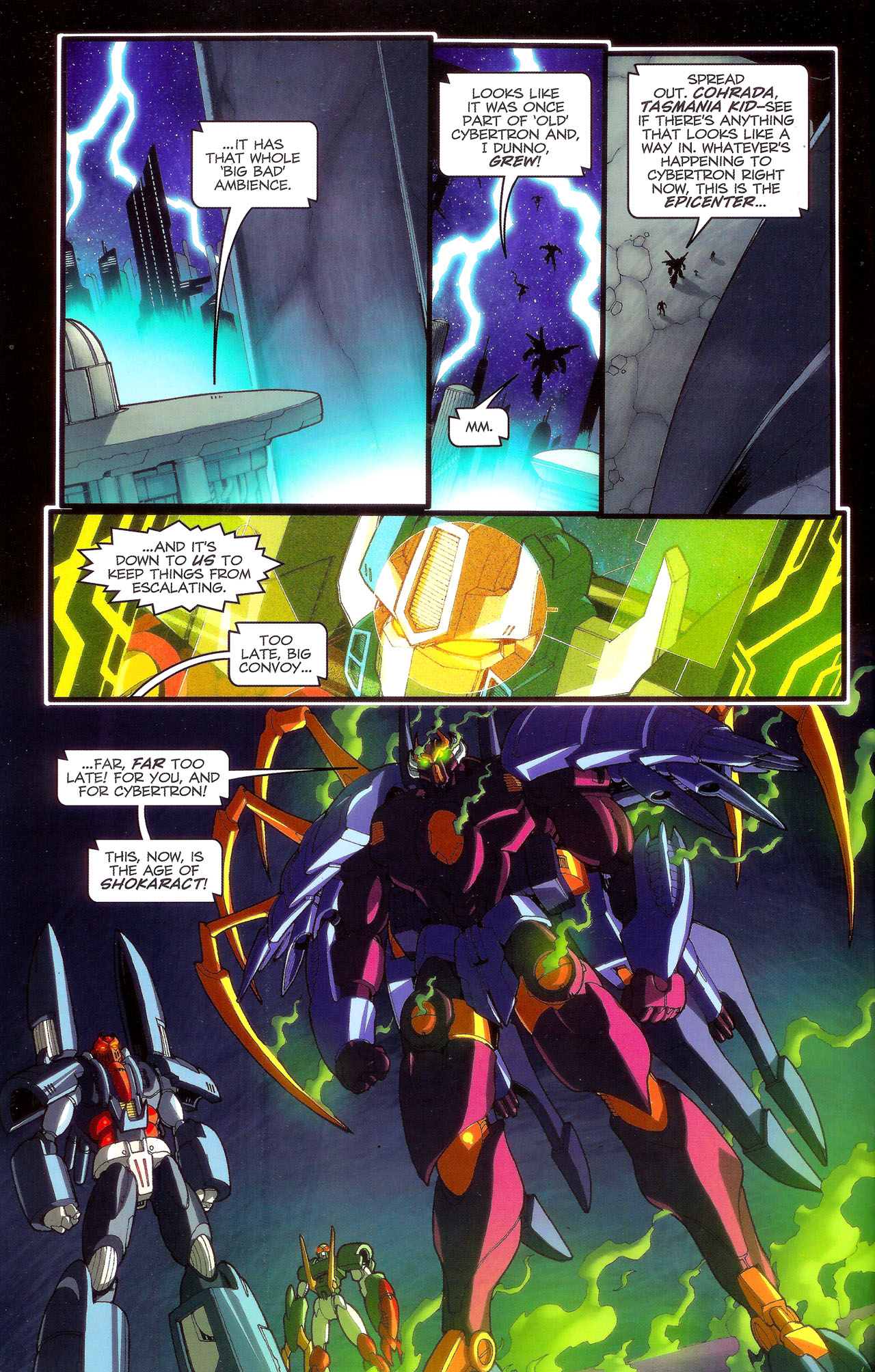 Read online Transformers: Beast Wars: The Ascending comic -  Issue #3 - 5