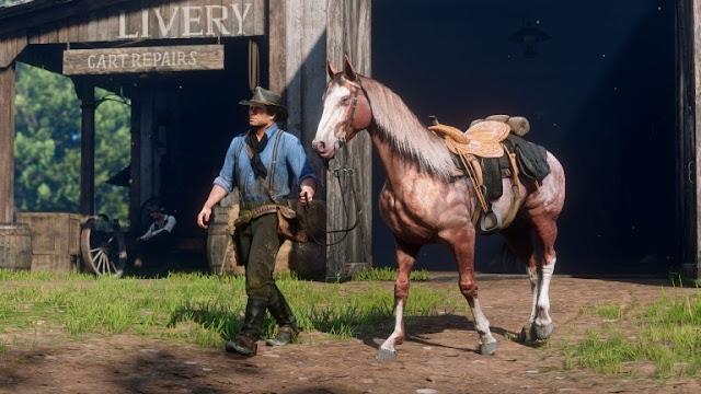 روكستار تكشف إلى أي مدى يمكن أن تصل العلاقة بين الشخصية و الحصان في لعبة Red Dead Redemption 2