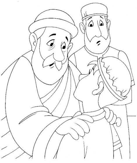 Evangeliza!: desenhos biblicos para colorir, filho pródigo