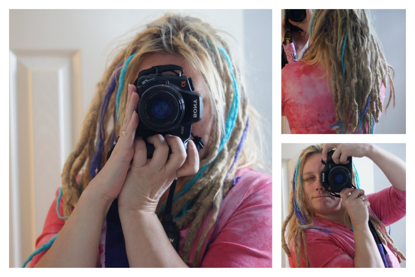 How to make felted yarn dreadlocks for your 'locks!