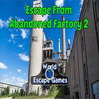 WorldEscapeGames Escape From Abandoned Factory 2 Walkthrough