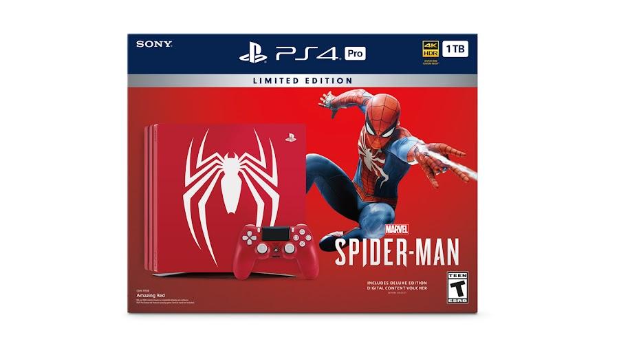 marvel's spider man ps4 pro