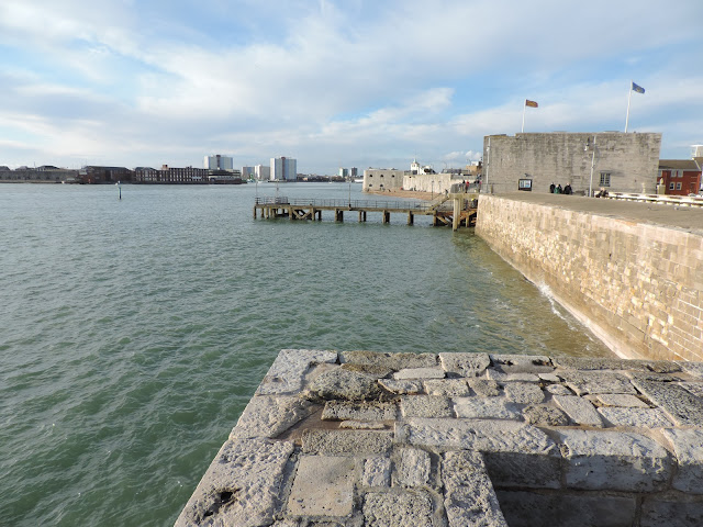 portsmouth harbour sea defences
