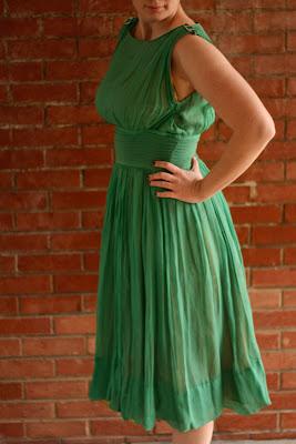 Antique Living Green Goddess