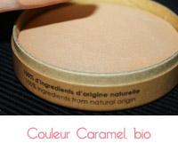 bronzant de couleur caramel bio