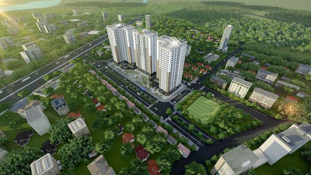 Phối cảnh dự án Xuân Mai Tower
