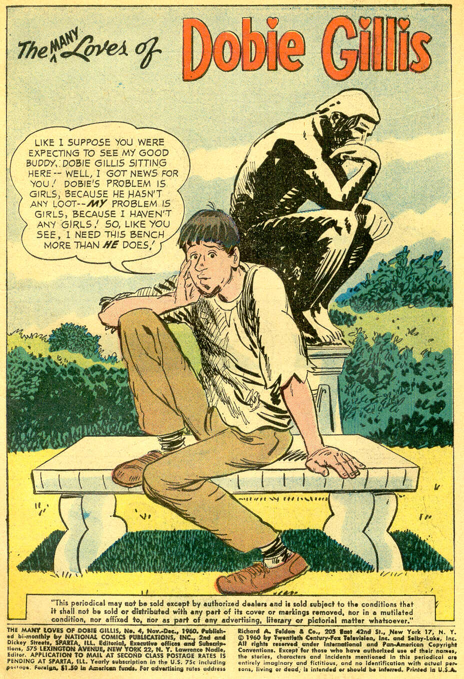 Many Loves of Dobie Gillis issue 4 - Page 3