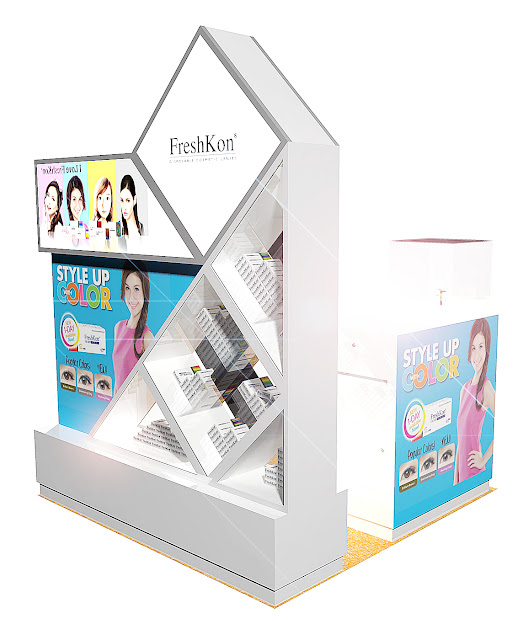 Product Display Showcase Rack Design - Freshkon