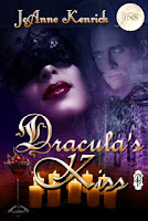 Dracula's Kiss by JoAnne Kenrick, a vampire paranormal romance story with Decadent Publishing's 1Night Stand series