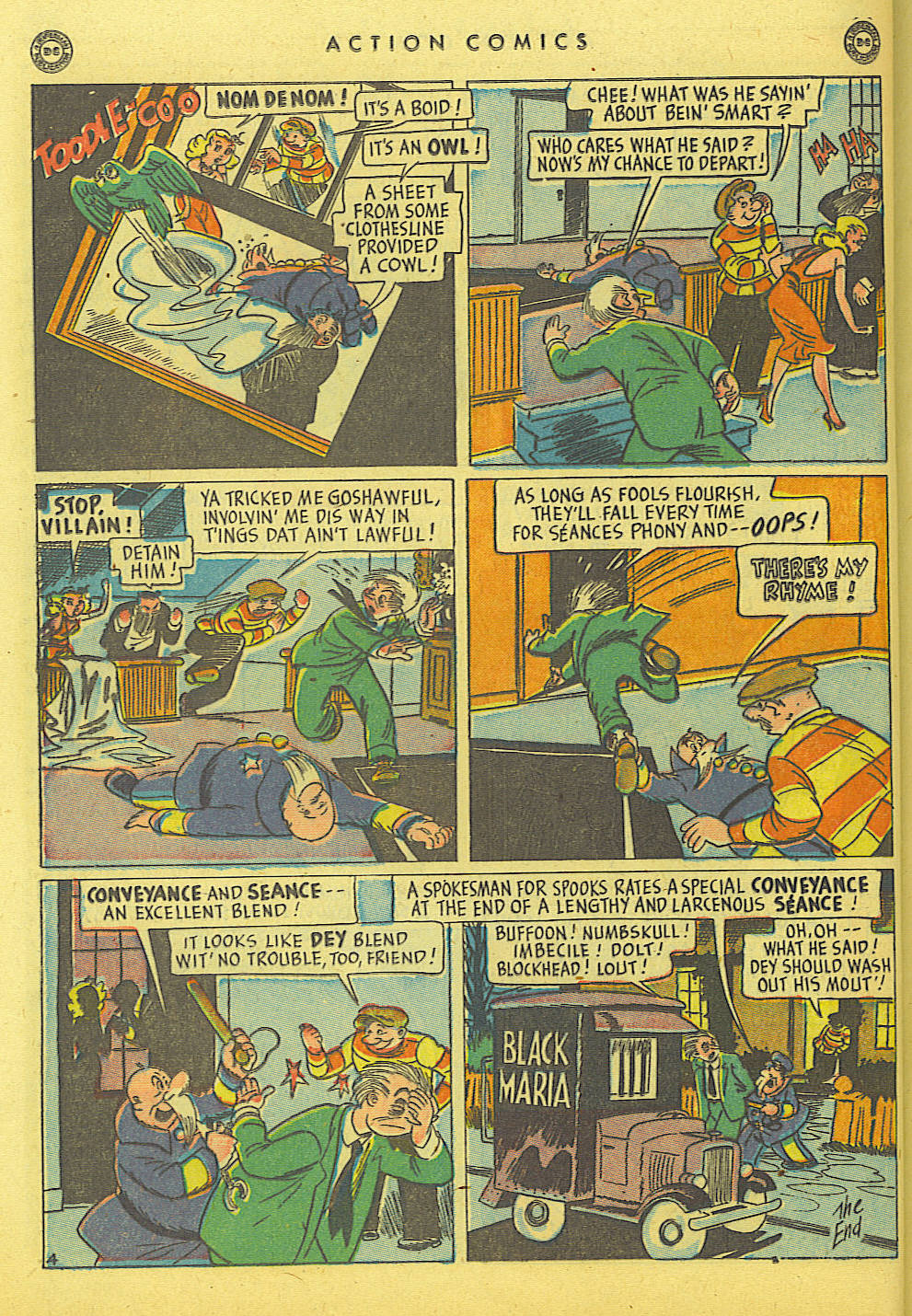 Read online Action Comics (1938) comic -  Issue #114 - 36