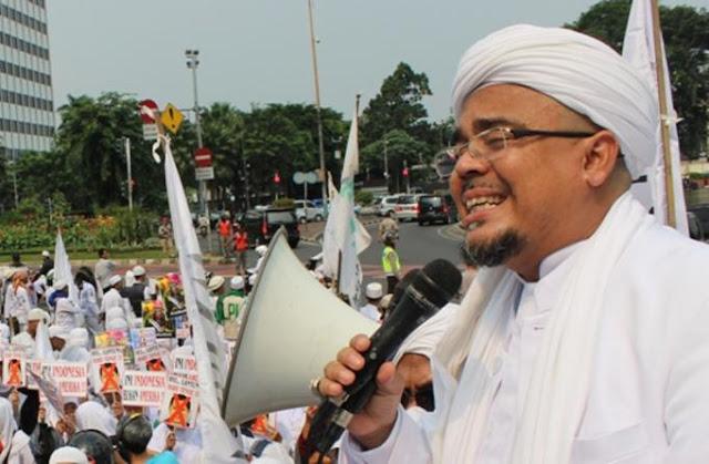 Usai Ketemu Pimpinan DPR, Habib Rizieq Adukan Intervensi Kasus Penistaan Al-Quran ke MPR