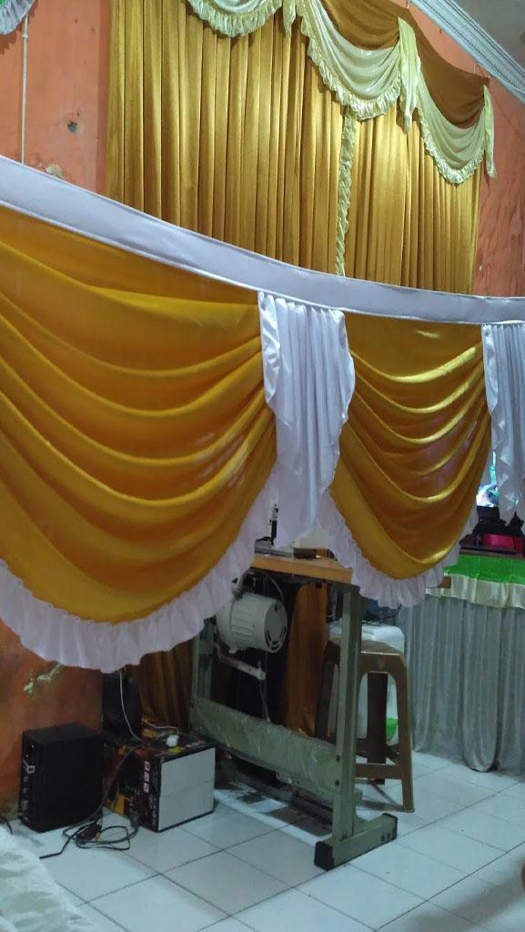 Jasa Pembuatan Rumbai Dekorasi Tenda Pesta  - 085846145562