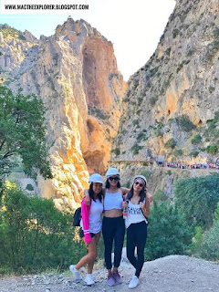 el caminito del rey - world's most dangerous canyon hiking trail