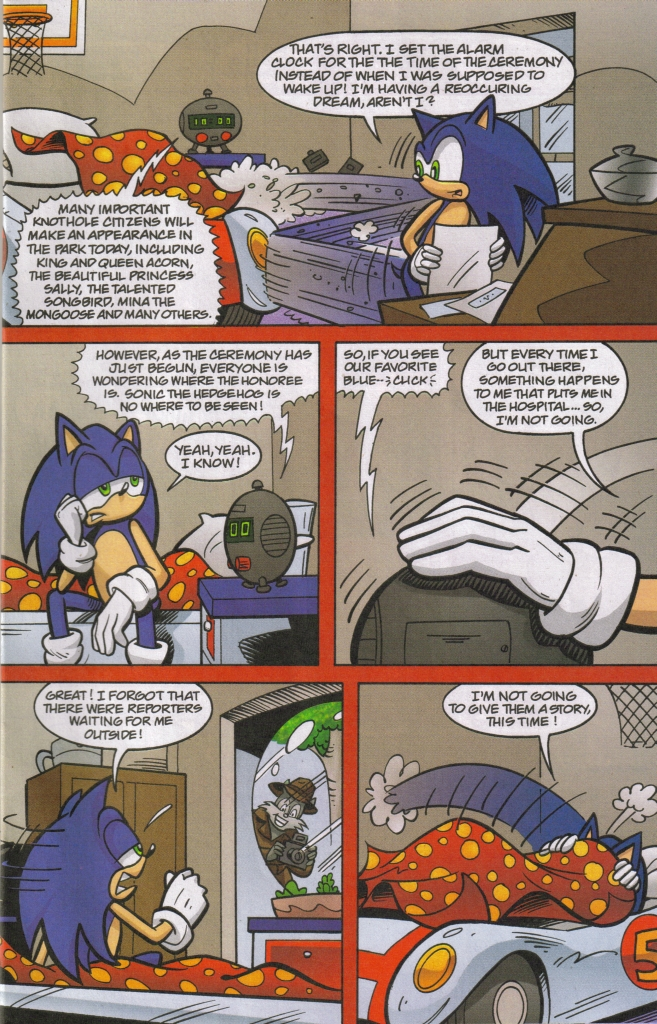 Read online Sonic The Hedgehog comic -  Issue #167 - 31