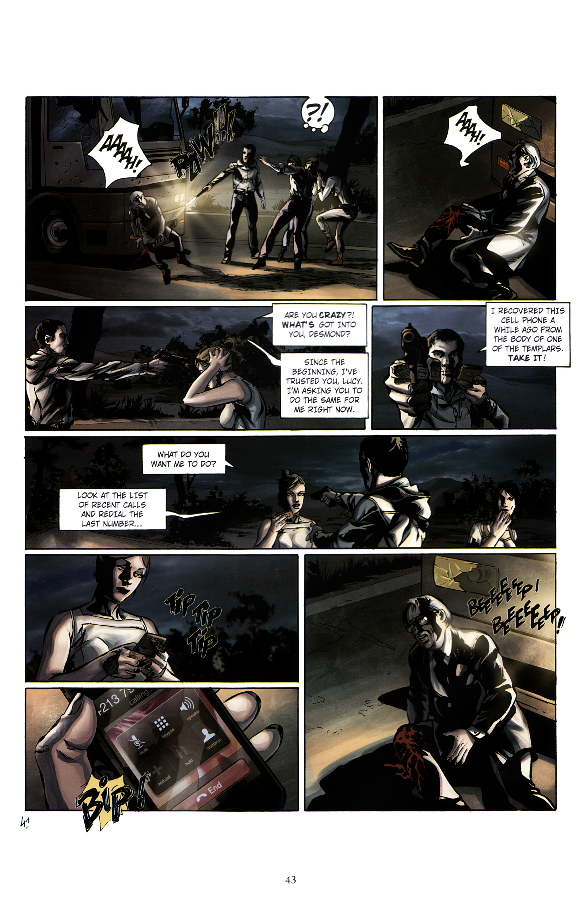 Read online Assassin's Creed (2012) comic -  Issue #2 - 47