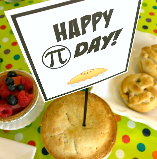 Celebrate Pi Day with a meal of pies and math fun @michellepaigeblogs.com