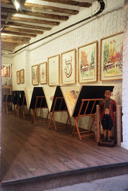 Barcelona Cute Shop Interior