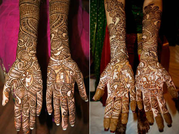 Mehndi Bridal Mehndi Design : Best and beautiful bridal mehndi designs for full hands legs