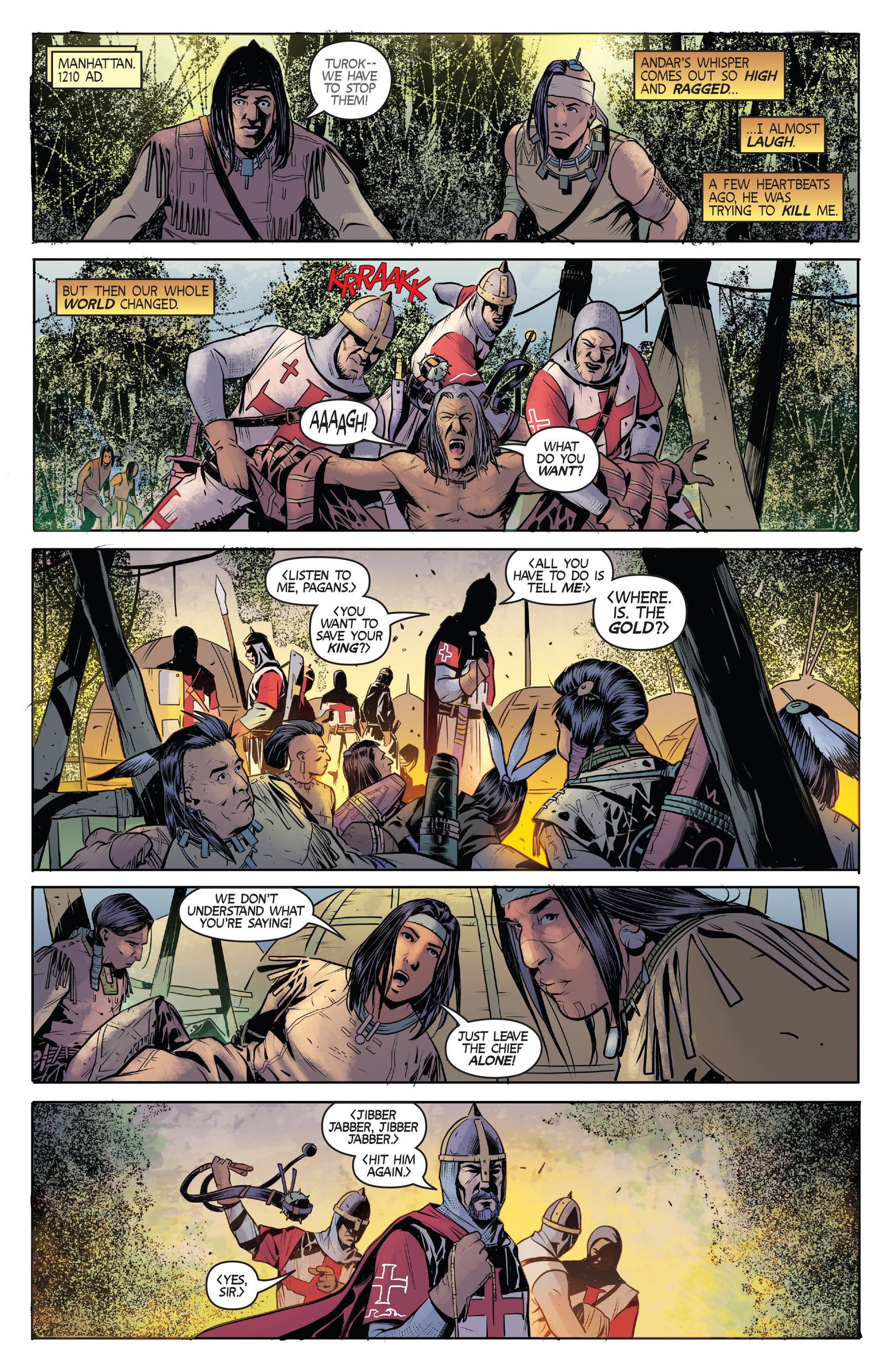 Read online Turok: Dinosaur Hunter (2014) comic -  Issue #2 - 3