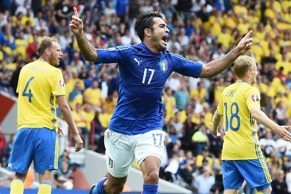 Calcio. Euro 2016. L'Italia è già agli ottavi di finale: battuta la Svezia per 1 a 0