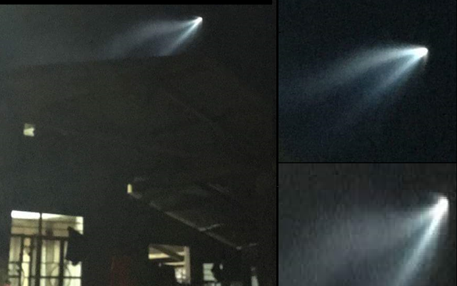 Recent UFO Sighting In Isabela Philippines Baffles Netizens