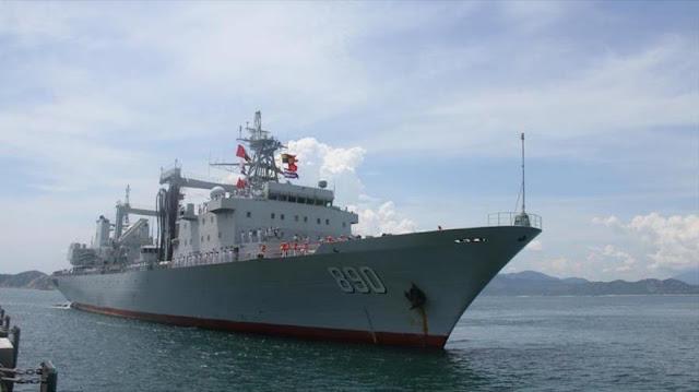 China envía flota naval a Vietnam para reforzar lazos militares