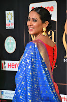 Priya Shree in Beautiful Blue Saree at IIFA Utsavam Awards 2017  Day 2    HD Exclusive Pics 10.JPG