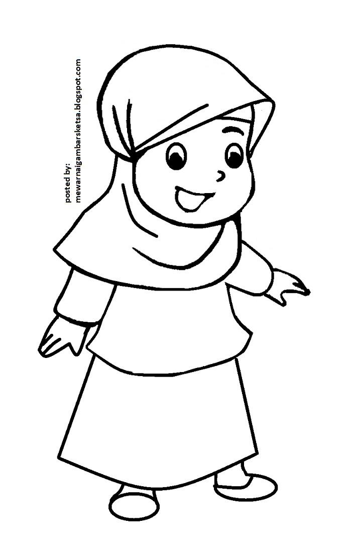 Mewarnai Gambar Pakaian Anak Wartisen